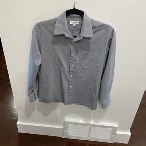 Size 12 boys shirt by Christian Dior / button down shirt - perfect condition